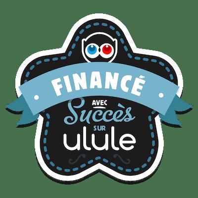 Badge campagne Ulule réussie
