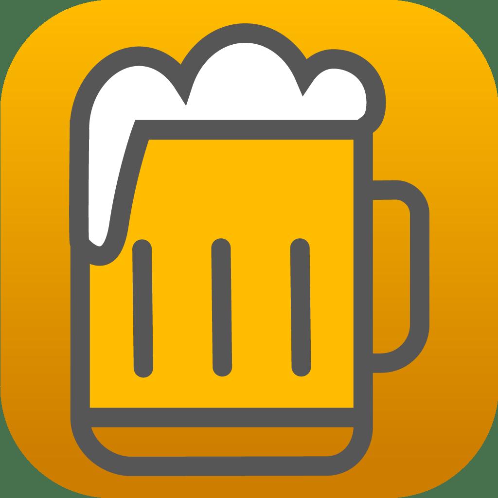 logo chopine, jeu à boire sur iOS et Android
