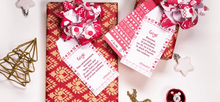 DIY Etiquettes cadeaux