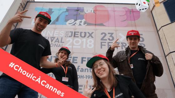 Chouic à Cannes pour le Festival International des Jeux !