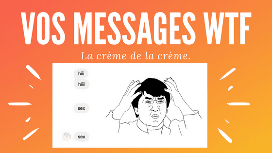 Vos messages : Antoine répond !
