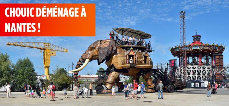 Pourquoi l'équipe Chouic se déplace à Nantes ?
