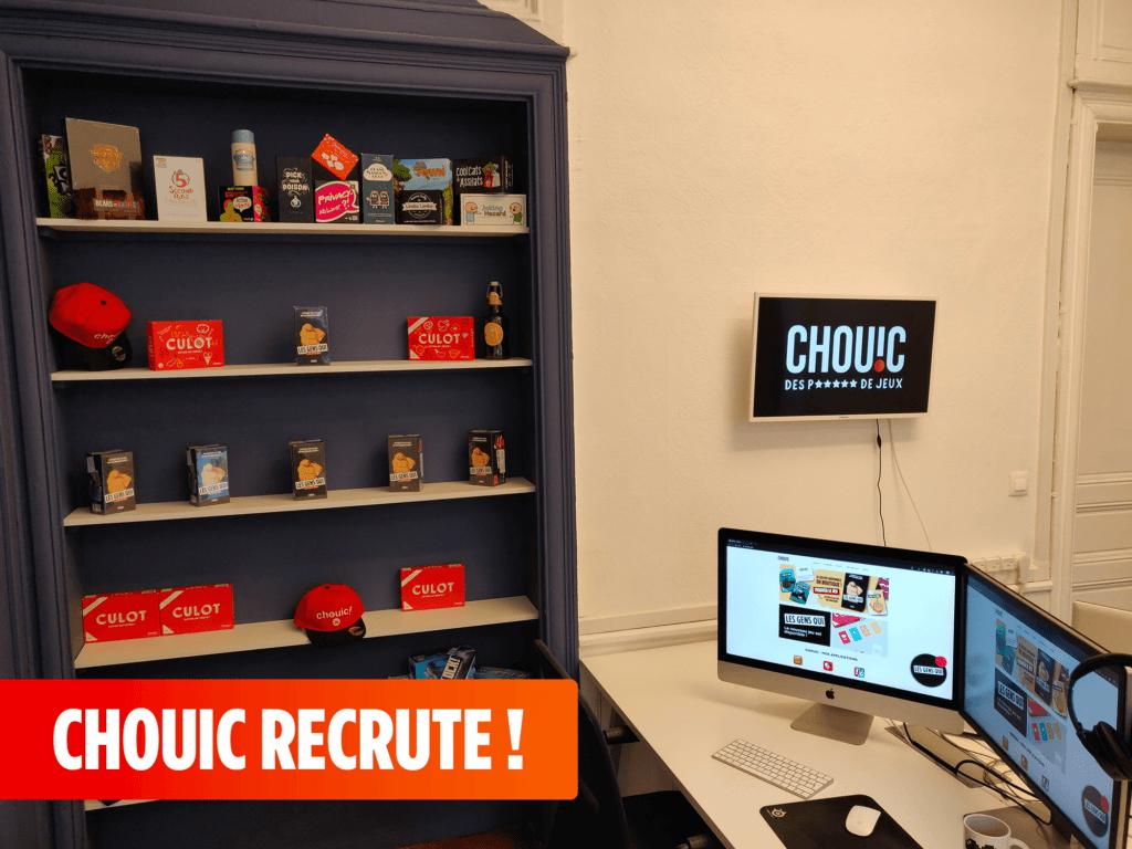 La start-up Chouic recrute ! Développeur, Designer, Rédacteur, etc. Découvrez toutes nos offres.