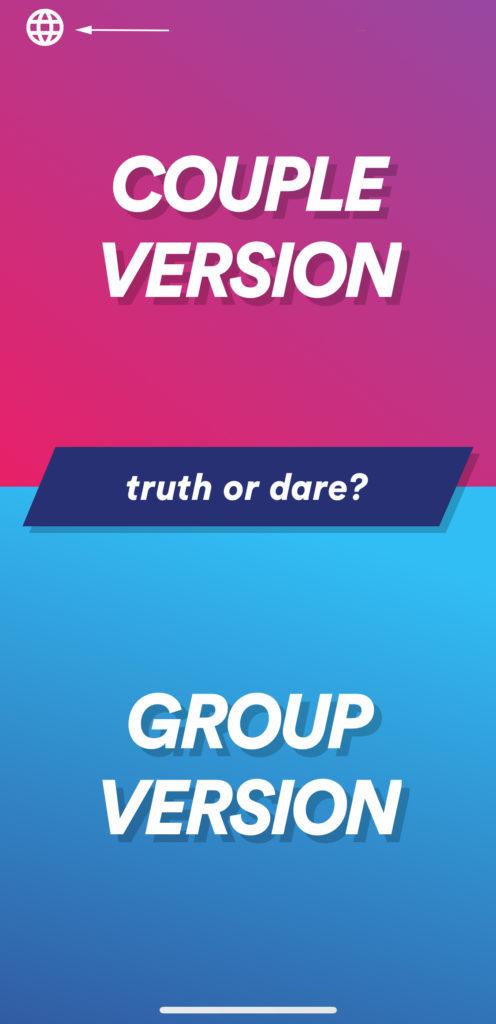 Action ou vérité app Android