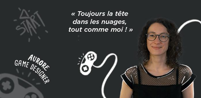 Portrait d'équipe : Aurore – Game Designer chez Chouic