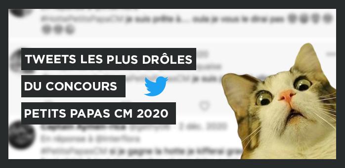 Les tweets les plus drôles du concours Petits Papas CM 2020