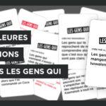 Propositions de cartes Les Gens Qui